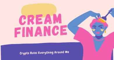 Cream Finance - decentralized peer-to-peer lending platform