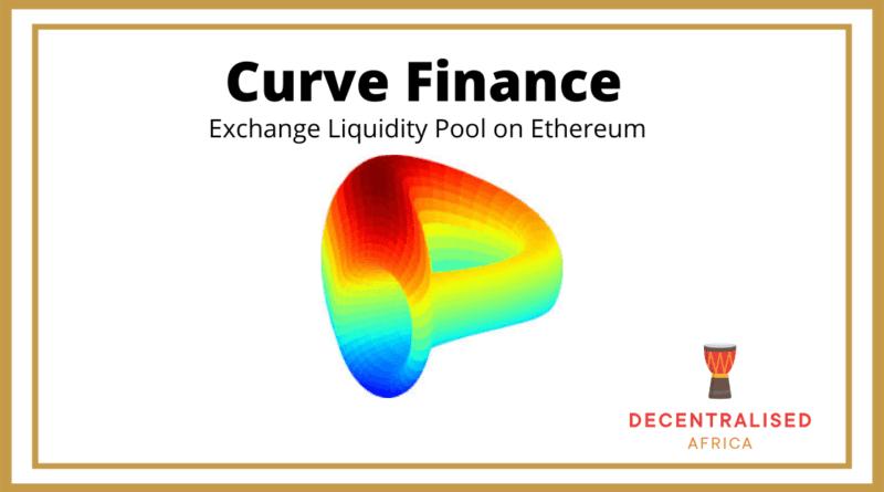 Curve Finance DeFi Platform
