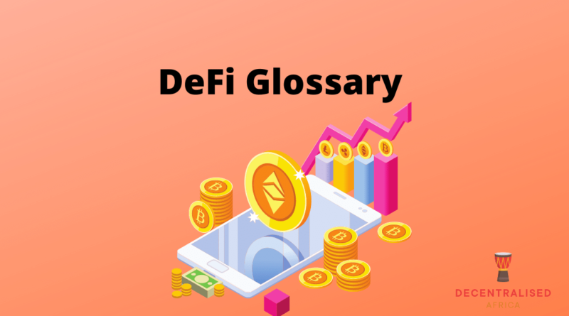 Decentralised Finance Dictionary