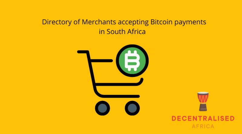 Bitcoin Merchant Directory