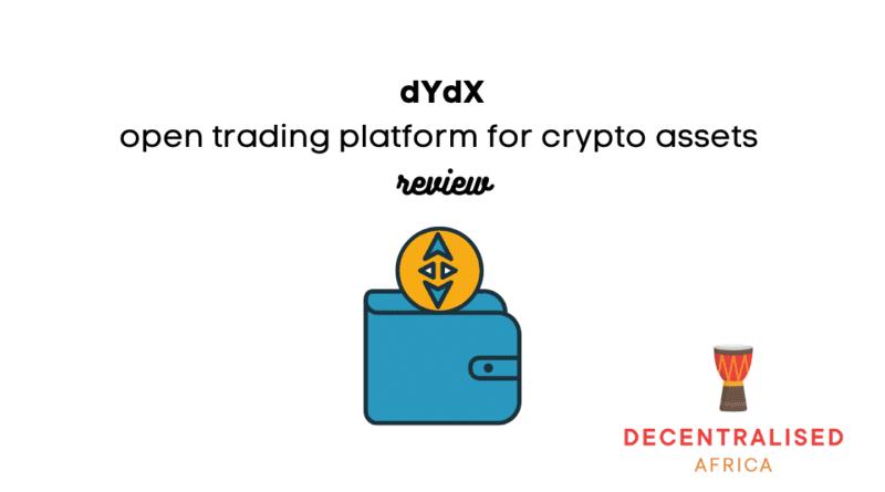 dYdX decentralised exchange platform
