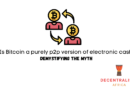 Is Bitcoin a purely p2p version of electronic cash?
