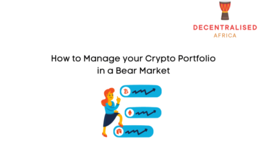 How to Manage Your Cryptocurrency Portfolio in a Bear Market